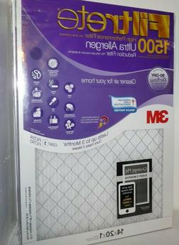 Filtrete 14x20x1, AC Furnace Air Filter, MPR 1500, Healthy L