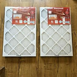 "Honeywell 16"" x 25 "" x 1"" Allergen Plus Pleated FPR 7 Air Fi"