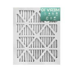 16x20x1 merv 10 pleated air filters 12