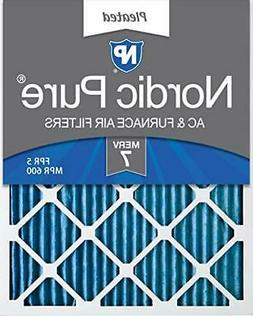 Nordic Pure 16x20x1 MERV 7 Pleated AC Furnace Air Filters 2