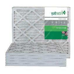 Filterbuy 16X20X1 Merv 8 Pleated Ac Furnace Air Filter, , 16