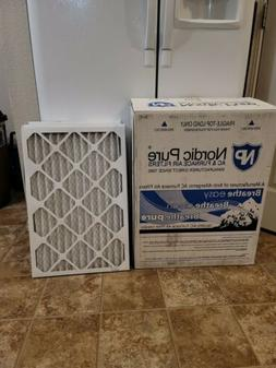 Nordic Pure 16x24x1  AC Furnace Air Filters 7 Pack
