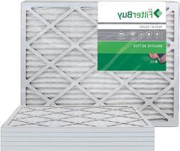 FilterBuy 16x24x1 MERV 8 Pleated AC Furnace Air Filter, , 16