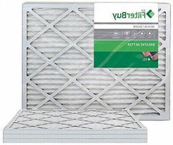 FilterBuy 16x24x1 MERV 8 Pleated AC Furnace Air Filter, ,
