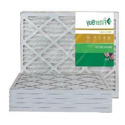 Filterbuy 16X25X1 Merv 11 Pleated Ac Furnace Air Filter, , 1