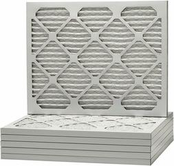 20x25x1 Merv 11 Pleated AC Furnace Filters. Made in the USA