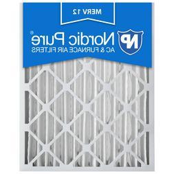 20x25x4 Air Filter Furnace Merv 12 Bulk Nordic Pure 11 Pleat