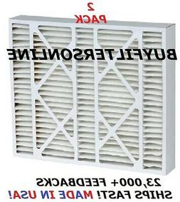 2 MERV 13 AIR FILTERS TRION AIR BEAR REPL 20X25X5 255649-002