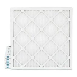 20x20x1 MERV 8 Pleated AC Furnace Air Filters by Glasfloss.