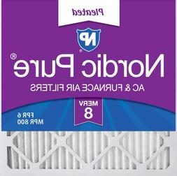 Nordic Pure 20x20x1 MERV 8 Pleated AC Furnace Air Filters 6