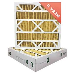 20x20x4 MERV 11 Pleated AC Furnace Air Filters.   2 Pack
