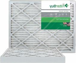 Filterbuy 20X23X1 Merv 8 Pleated Ac Furnace Air Filter, , 20
