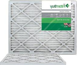 FilterBuy 20x23x1 MERV 8 Pleated AC Furnace Air Filter, ,