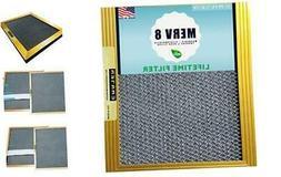 20x25x1 CARTER | MERV 8 | Lifetime HVAC & Furnace Air Filter
