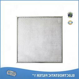 20x30x1 Lifetime Air Filter Electrostatic Permanent Washable