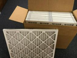 20x25x1 Merv 13 Pleated AC Furnace Filters. Case of 12, Capt