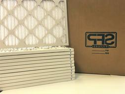 20x25x1 Merv 8 Pleated AC Furnace Filters. Case of 12, Made