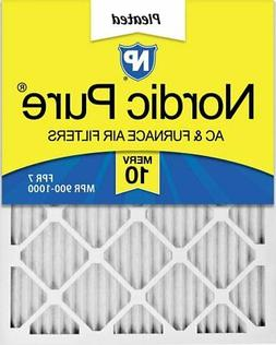 Nordic Pure 20x30x1 MERV 10 Pleated AC Furnace Air Filters,