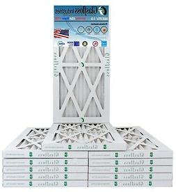 Glasfloss 24x24x1 - MERV 10  - Pleated AC Furnace Air Filter
