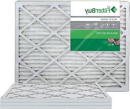 FilterBuy 24x24x1 MERV 8 Pleated AC Furnace Air Filter, ,