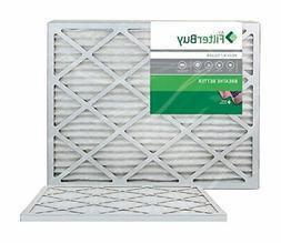 FilterBuy 24x30x1 MERV 8 Pleated AC Furnace Air Filter Pack
