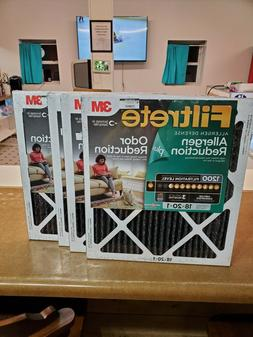 Filtrete  Allergen Plus Odor Reduction HVAC Furnace Air Filt