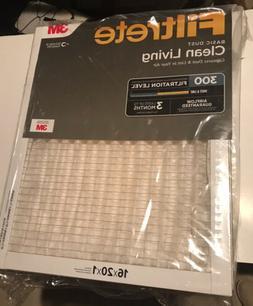Filtrete 6 Pack 16x20x1, AC Furnace Air Filter, MPR 300, Cle