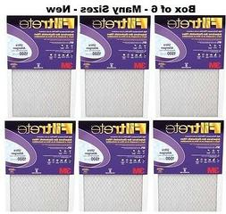 6 Pack-MANY SIZES - 3M Purple Ultra Allergen Filtrete Filter