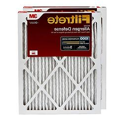 1000 AC Furnace Air Filter Micro Allergen Defense 2 Pack Too
