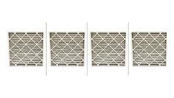 AF MERV 8 Pleated AC Furnace Air Filter.  , 4pk