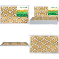 Filterbuy Afb Gold Merv 11 16X25X1 Pleated Ac Furnace Air Fi