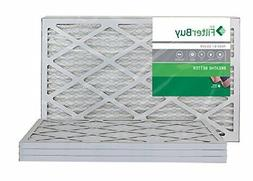 FilterBuy AFB MERV 8 14x24x1 Pleated AC Furnace Air Filter P
