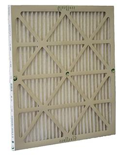 16x20x1 Air Filter MERV 10 Pleated by Glasfloss - Box of 12