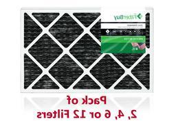 FilterBuy Allergen Odor Eliminator 16x20x1 MERV 8 Pleated AC