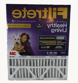 3M Filtrete 20x25x4 Allergen Reduction Air Filter