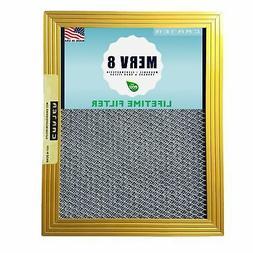 CARTER | Gold | MERV 8 | HVAC & Furnace Filter | Lifetime Wa