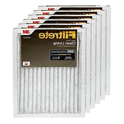 Filtrete 16x20x1, AC Furnace Air Filter, MPR 300, Clean Livi
