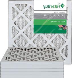 FilterBuy 16x16x1 MERV 8 Pleated AC Furnace Air Filter, , 16
