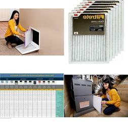 Filtrete Mpr 300 14X20X1 Ac Furnace Air Filter, Clean Living