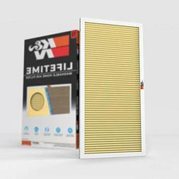 K&N 12x24x1 HVAC Furnace Air Filter; Lasts a Lifetime; Washa