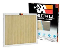 K&N Reusable Washable Heating Cooling HVAC filter 20 x 25 x