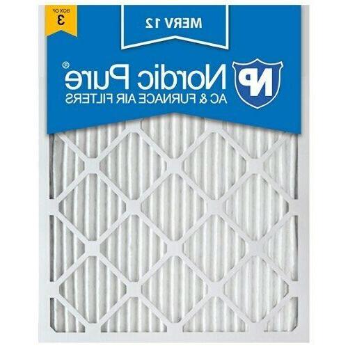 16x25x1 air filter furnace merv 12 13