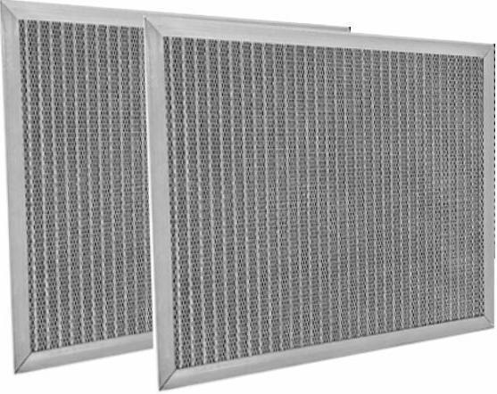 2 pack electrostatic washable permanent reusable filter
