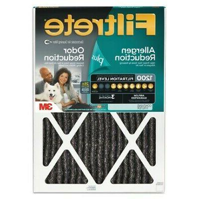 Filtrete Allergen Plus Odor Reduction Furnace Air