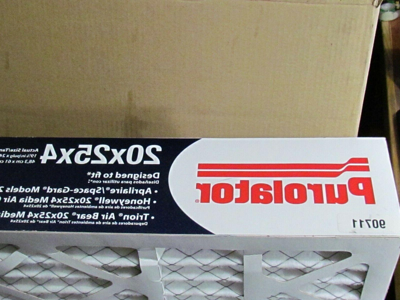 Purolator 20x25x4 Allergen RPF 1600-4 Furnace