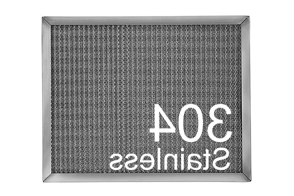 304 stainless steel metal filter permanent washable