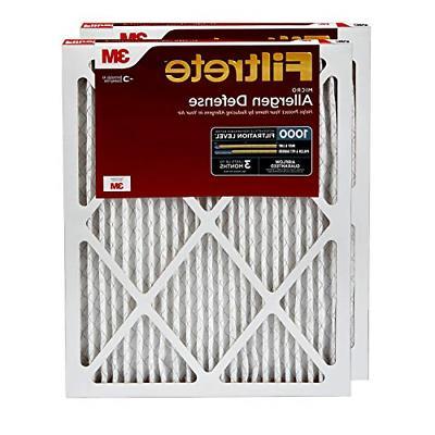 1000 ac furnace air filter micro allergen