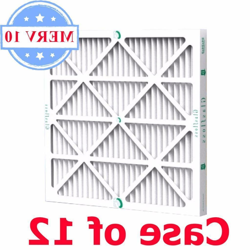 16x25x1, GLASFLOSS INDUSTRIES, INC. Air Filter, MERV 8