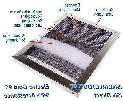 Electrostatic Furnace Filter Permanent, Lifetime