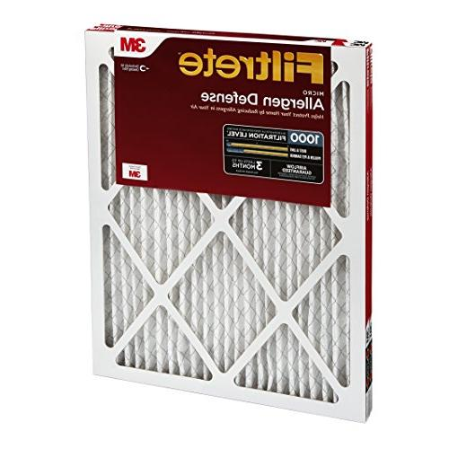 Filtrete Defense AC Furnace Delivers Cleaner Your Home, 1000, 14 x 1, 2-Pack